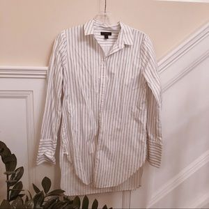 J crew stripe shirt